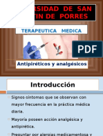 Terapéutica - Analgesicos y Antipireticos
