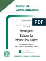 Manual para elaborar informes psicologicos.pdf