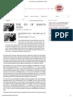 The Do of Kano's Judo - Australian Kodokan Judo Association