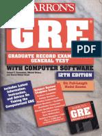 GRE-Barron's GRE(12th Edition)