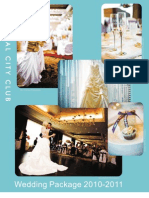TCC Wedding Package 2010