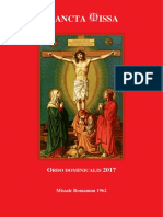 Ordo Dominical 2017