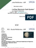 Seminário Sobre Bitcoin - Por Prof Newton Licciardi