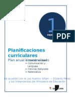 Plan anual 1° de Primaria (Aimara)