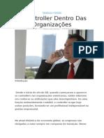 Papel Do Controller Dentro Das Organizações
