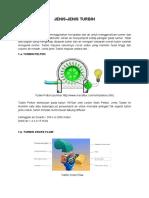 Spesifikasi Turbin