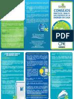 Consejos Practicos Para El Uso Eficiente de La Energa - Residencial