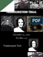 frankenstein trial powerpoints