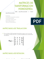 Ejemplosmatrices de Transformacion Homogenea Compuesta
