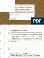 Nutrisi Pada Bayi Dan Anak, OGT Dan NGT