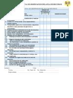 Pauta Evaluativa de Observacion Del Aula de Recursos
