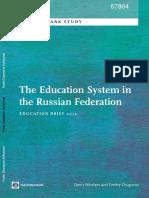 O Sistema Educativo na Federação Russa