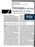 Estrategia de Marketing Impulsada Por El Cliente