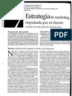 Estrategia de Marketing Impulsada Por El Cliente