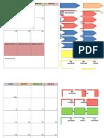 Calendario Para Cuaderno