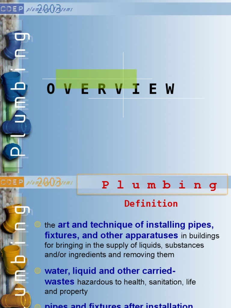137691063-Final-Plumbing-2.ppt | Water Purification | Fire Sprinkler ...