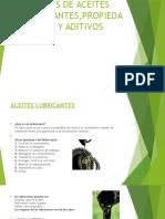 Tipos de Aceites Lubricantes,Propiedades y Aditivos