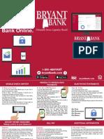 online banking brochure