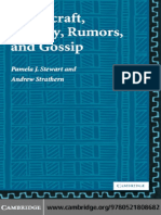 Stewart and Strathern - Witchcraft, Sorcery, Rumors and Gossip (New Departures in Anthropology)