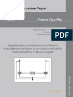 Classification of Electrical Installations in Healthcare Jul10 En