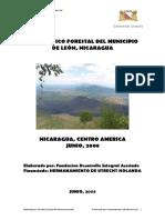 Diagnostico Forestal Del Municipio de Leon