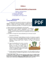 Tema 1 Estretegias de Gestion La Negociacion