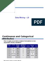 Data Mining - L6 (1)