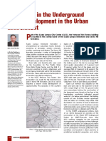 Challenges in the Underground Space Development in the Urban Environment