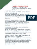 CUSTIONARIO DELAS NIIF