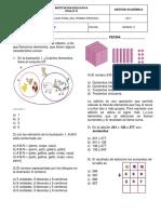 Matematicas Grado 2 P1