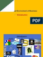 Unit v Globalisation