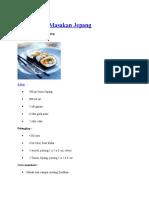 Resep Sushi Masakan Jepang