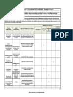 matrix de jerarquizacion con medidas de prevencion