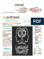 Poster the Universal Hypothesis