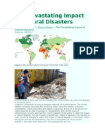 The Devastating Impact of Natural Disasters