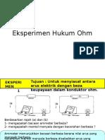 Eksperimen Hukum Ohm