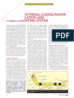 A One-Trip External-Casing-Packer Cement-Inflation and Stage-Cementing System