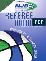 referee manual 09-10