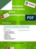 Datos Elecciones Municipales 2016