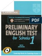 Cambridge Preliminary English Test 1_Book.pdf