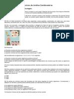 Exercícios de Análise Combinatória - ARIAL