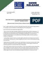 AFL-CIO Lundahl Endorsement