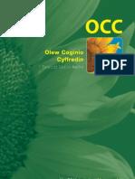 Vegetable Oil Car Brochure - Welsh