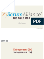 The Agile MBA (for Scrum Alliance)