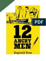 DOWNLOAD PDF (English) 12 Angry Men by Reginald Rose