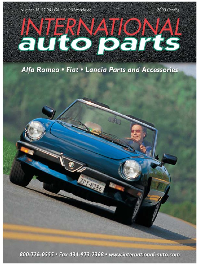 Alfa Romeocatalog Motor Vehicle Land Vehicles 1984 Pininfarina Wiring Diagram