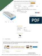 Cargador Portátil Adata PowerBank PT100 Blanco APT100-10000M-5V-CWHBL _ Cyberpuerta