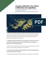 15 Respuestas Para Explicarle a Los Chicos Por Qué Las Malvinas Son Argentinas
