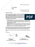 solicitud de permiso para realizar itf iguana playa la rosa