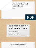 El Método Taylor y El Ausentismo